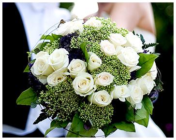 florist bröllop stockholm